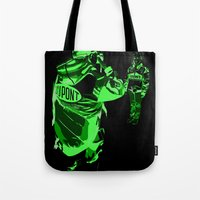 racing Tote Bags featuring Racing Fans by Umbrella Design
