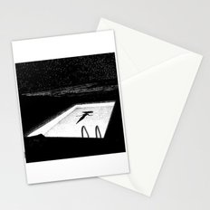 asc 593 - Le silence des cigales (The midnight lights) Stationery Cards