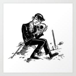 Hamlet Art Print