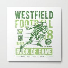 Westfield HS Football Metal Print