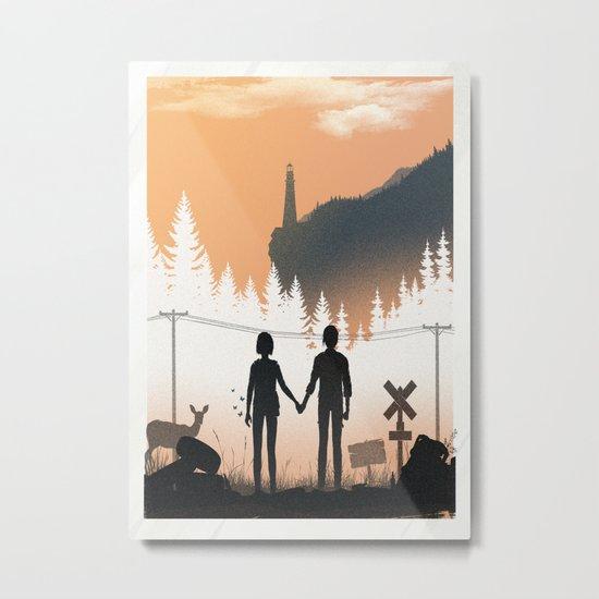 Life Is Strange Metal Print