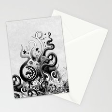 Dark Octoworm Stationery Cards