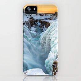 Gullfoss Waterfall Iceland Ultra HD iPhone Case