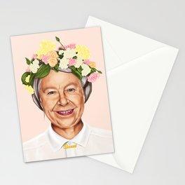 Hipstory - Queen Elizabeth Stationery Cards