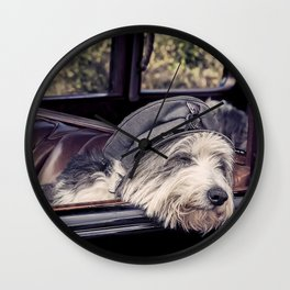 K9 Chauffer Wall Clock