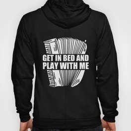 Air Accordion Player Funny Saying Music Instrument Hoody