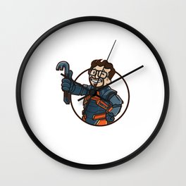 LAMBDA BOY Wall Clock
