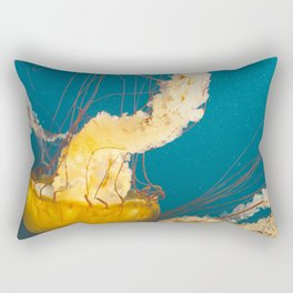 Pacific Sea Nettle Jellyfish I Rectangular Pillow