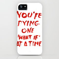 What if iPhone (5, 5s) Slim Case