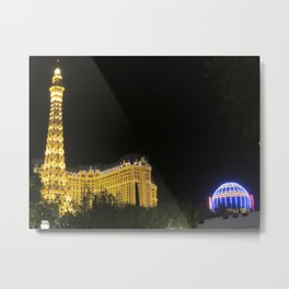 Paris in the Evening Metal Print