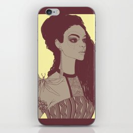 African woman iPhone Skin