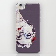Gasa girl iPhone & iPod Skin