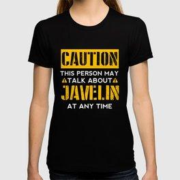CAUTION - Javelin Fan T-shirt