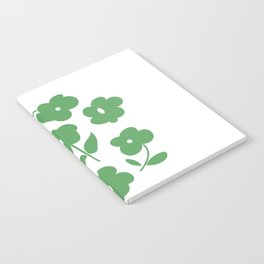 Green Poppies Notebook