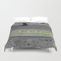 street Duvet Covers featuring street by habish