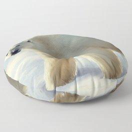 Polar bear Floor Pillow