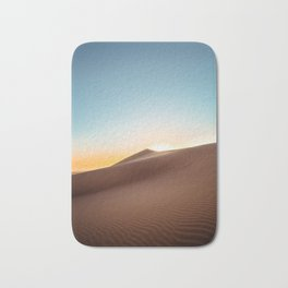 Sun-touched Sand Dunes Bath Mat