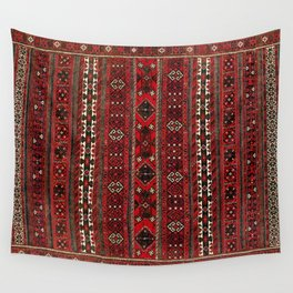 Baluch Flatweave  Antique Afghanistan  Rug Print Wall Tapestry