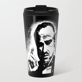 The Godfather Marlon Brando Travel Mug