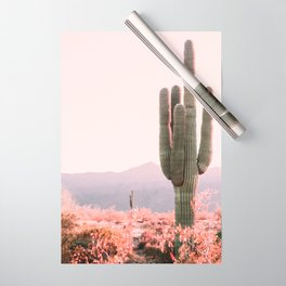 Vintage Cactus Wrapping Paper