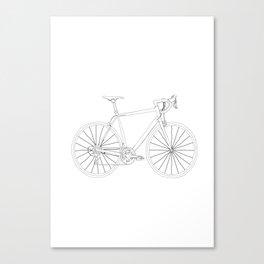 Gena (white) Canvas Print