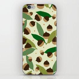 chestnut family iPhone Skin