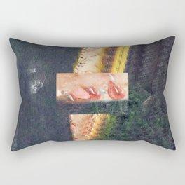 Lip Study I Rectangular Pillow