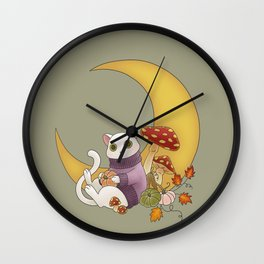 Dreaming of Autumn Wall Clock
