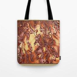 A STUDY OF MADRONA BARK Tote Bag