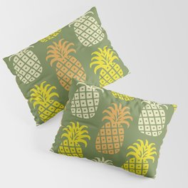 Retro Mid Century Modern Pineapple Pattern 89 Pillow Sham