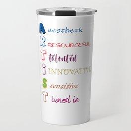 Artist Analogy Travel Mug
