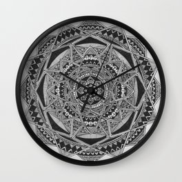 The Pattern Wall Clock
