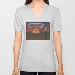 wellcome to the eye show Unisex V-Neck