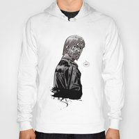 rick grimes Hoodies featuring The Walking Dead Rick Grimes by Cursed Rose