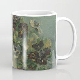 Basket of Pansies Coffee Mug