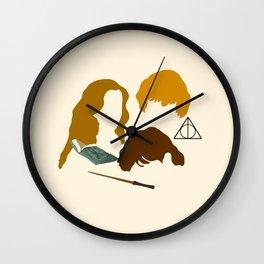 Wizard Trio Wall Clock