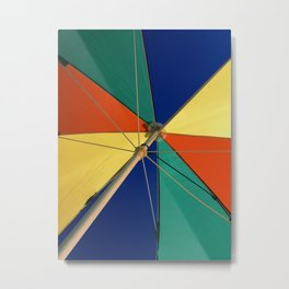 Beautiful Mundane 01 - The Summer Umbrella Metal Print