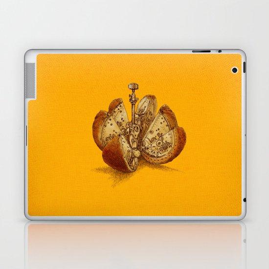 Steampunk Orange Laptop & iPad Skin