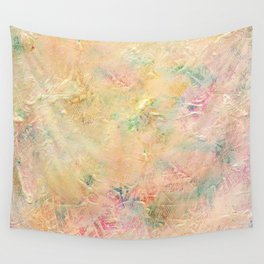 Pastel Tones Wall Tapestry