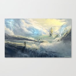 Island Refuge Canvas Print