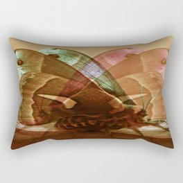 Mating Moths Rectangular Pillow