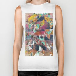 You Never Know How It Might Unfold Biker Tank