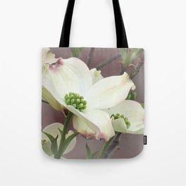Dogwood Tree Spring Flowers A447 Tote Bag