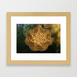 Celtic Gold Framed Art Print