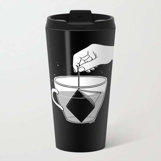 A Cup of Book Metal Travel Mug