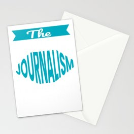 The Legendary journalism Teacher Retirement Gift Design Stationery Cards