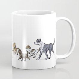 Trotting Terriers Coffee Mug