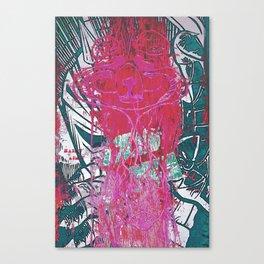 Saint ain't Canvas Print