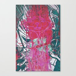 Saint ain't Canvas Print