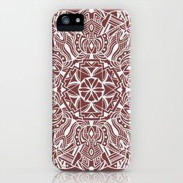 Land Mandala iPhone Case